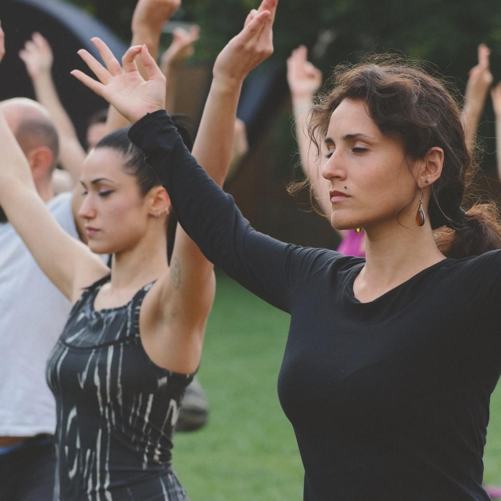 Yoga class giardino della triennale yogamap for Giardino triennale